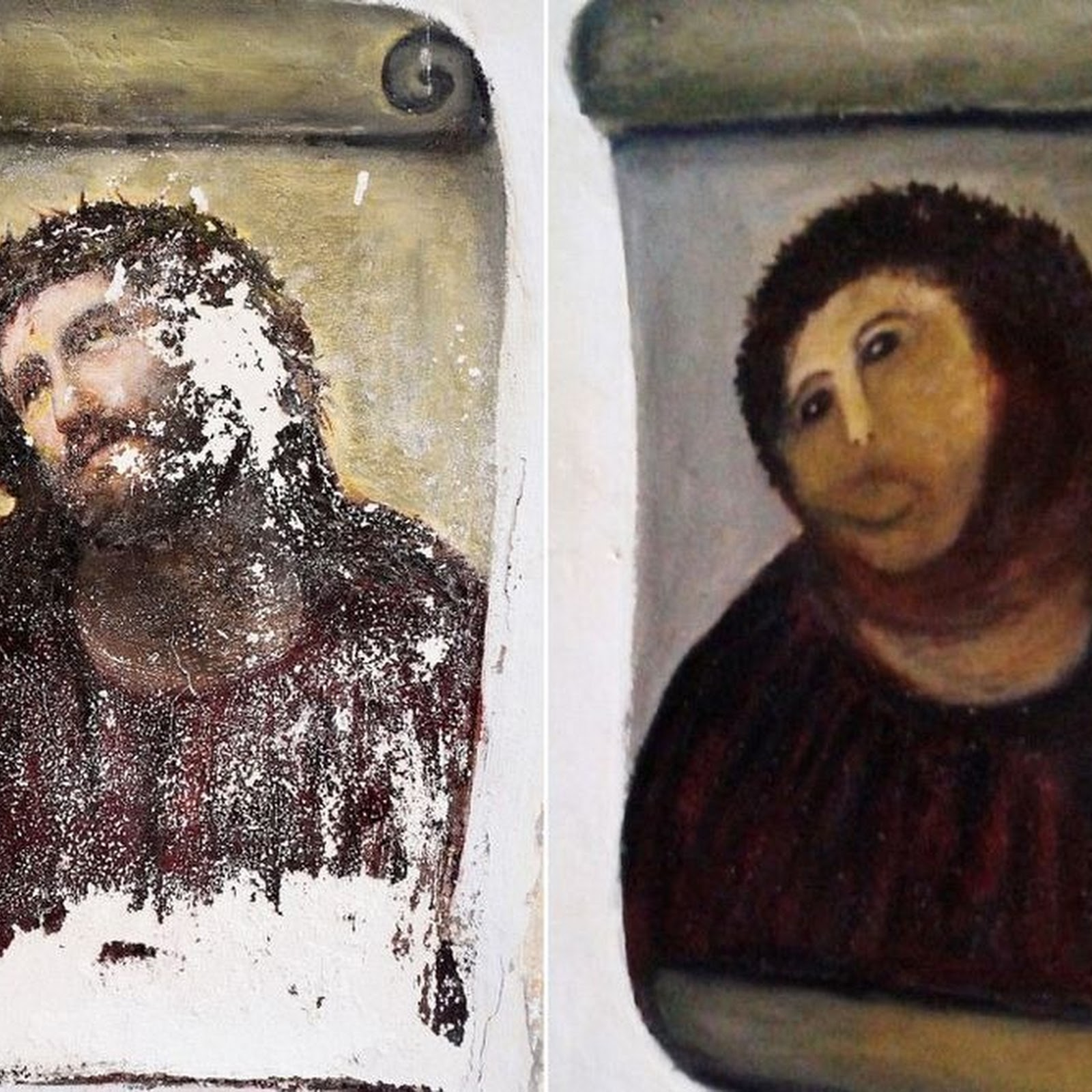Ecce Homo: The Botched Painting That Saved a Town