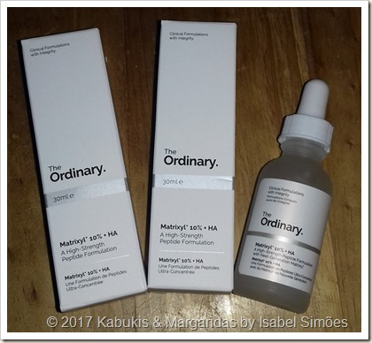 Matrixyl 10% + HA da The Ordinary