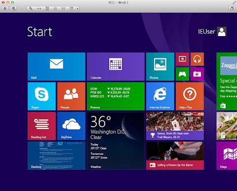 Windows 8.1の画面