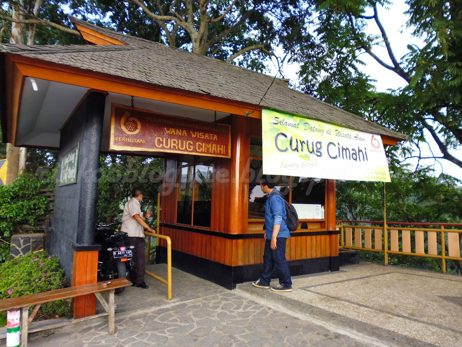 Curug Cimahi Kabupaten Bandung Barat Survive Giezag