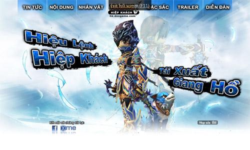 DzoGame phát hành Hiệp Khách Giang Hồ và A.V.A 2