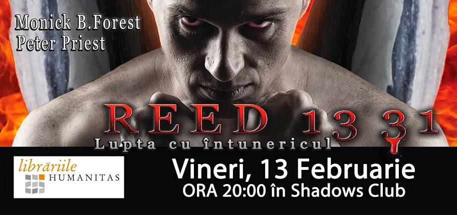 Lansare de carte Reed 1331 Lupta cu întunericul la Shadows Club #1