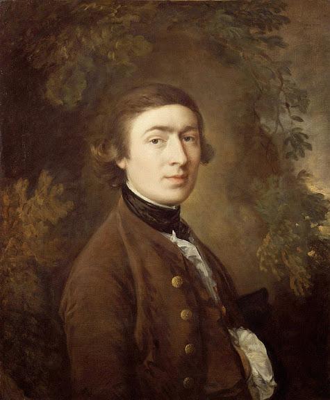 Thomas Gainsborough - Self-portrait (1759)