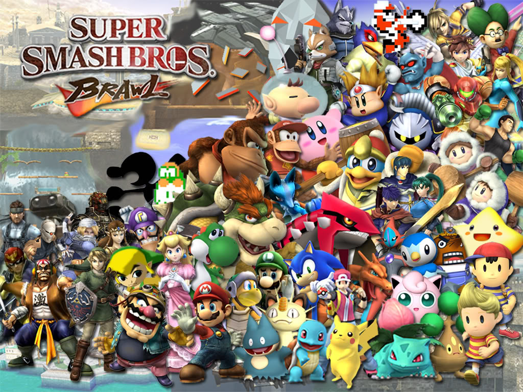 Super Smash Bros Brawl Wallpaper |Gamebud