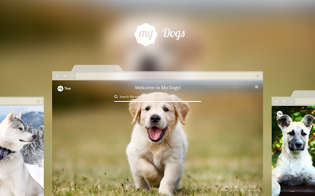 my dogs new tab chrome web store