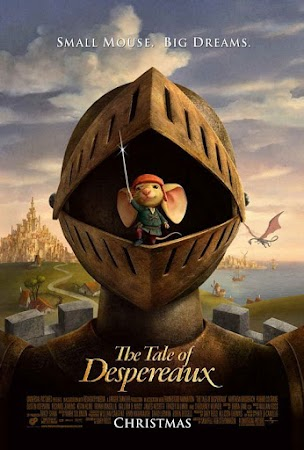 Poster Of The Tale of Despereaux In Dual Audio Hindi English 300MB Compressed Small Size Pc Movie Free Download Only At worldfree4u.com