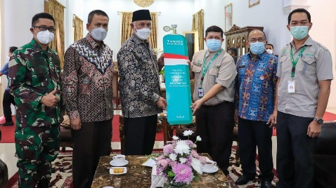 Bantuan Liquid Oxygen Bakal Disalurkan untuk RSUP M. Djamil Padang