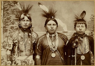 three_young_native_american_men
