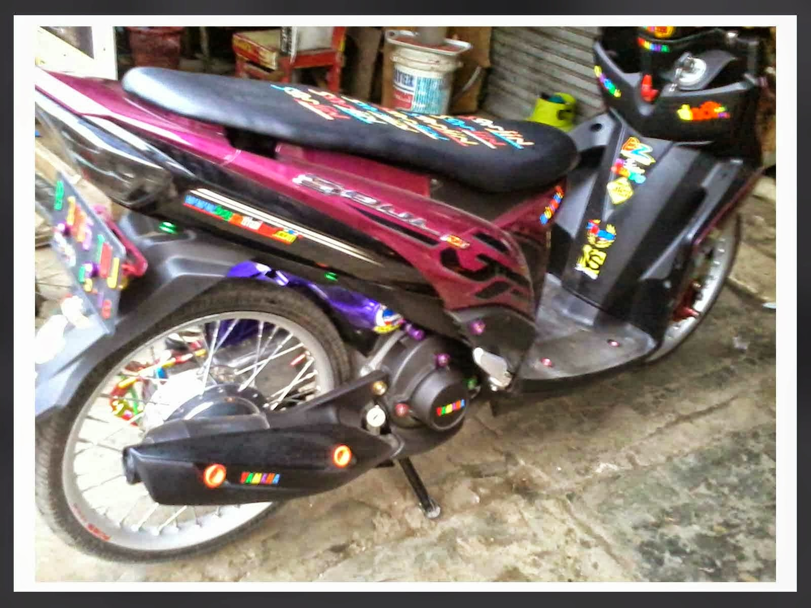 modifikasi motor mio sporty 2011