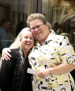 Ann with great friend Shelia.