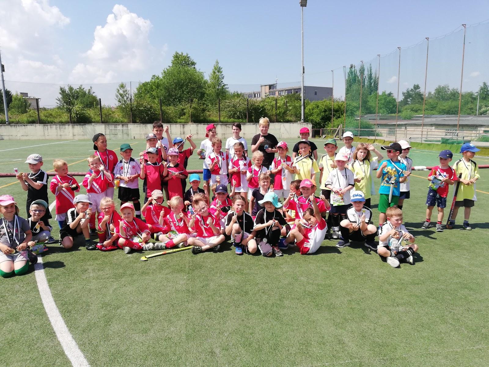 minibenjamínci U6: turnaj Kbely (26.5.2018)