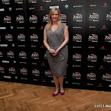WWW.ENTSIMAGES.COM -  Claire Anderson  arriving at Jazz FM Awards at One Marylebone road London January 31st 2013                                                      Photo Mobis Photos/OIC 0203 174 1069