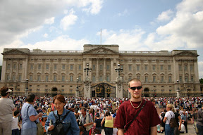Glenn at Buckingham Palace