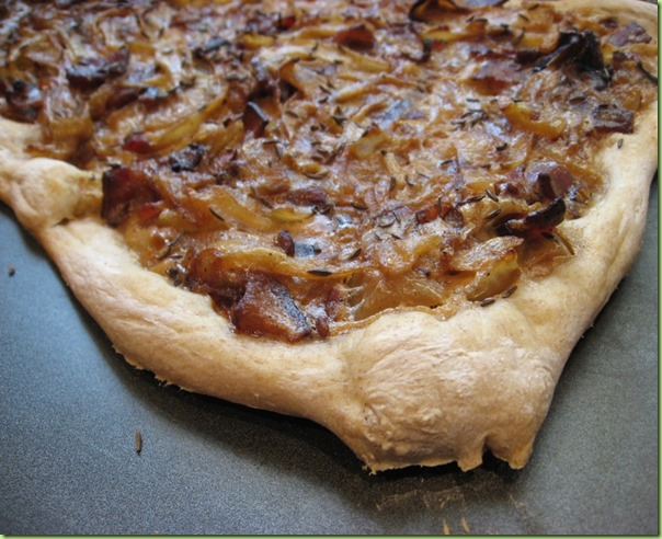 Alsatian Bacon Tart