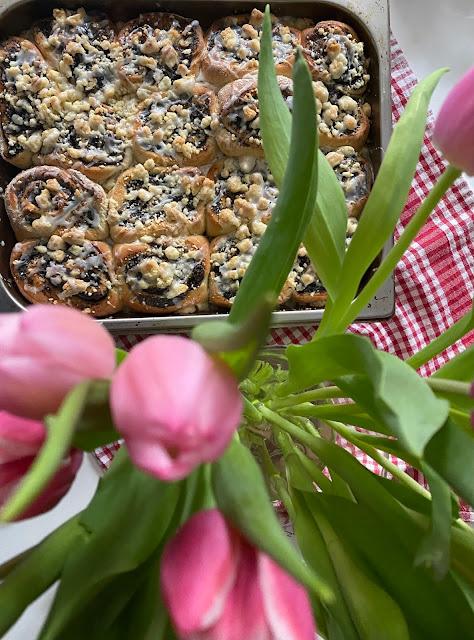 Mohnschnecken mit Streuseln