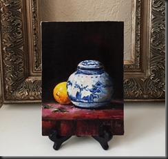 chinese vase easel