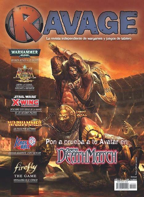 Portada Ravage 4