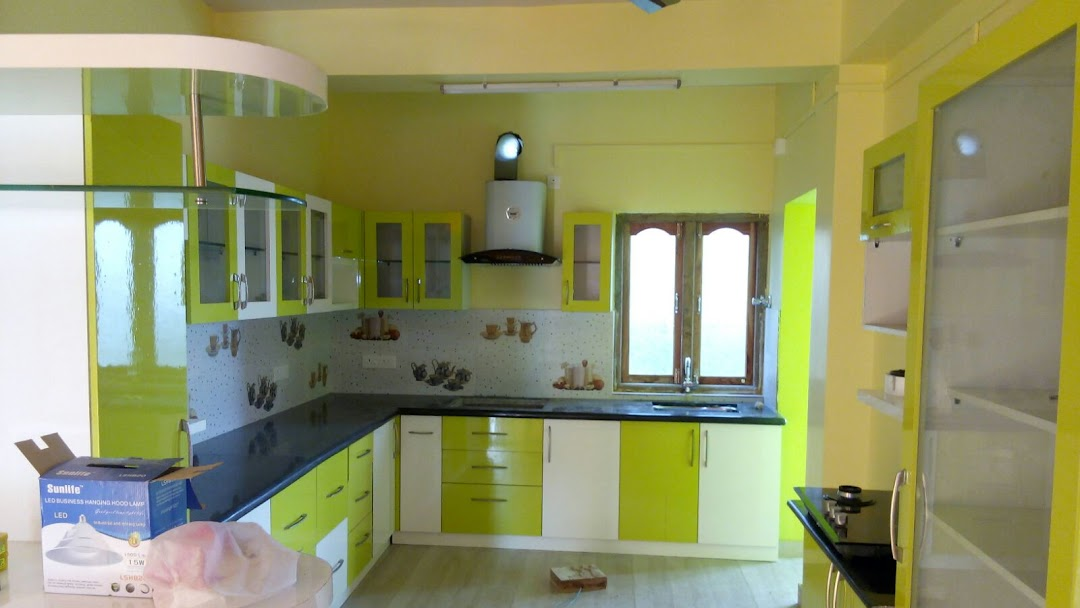 Lingaa Modular Kitchens Wardrobes Interiors Modular Kitchen