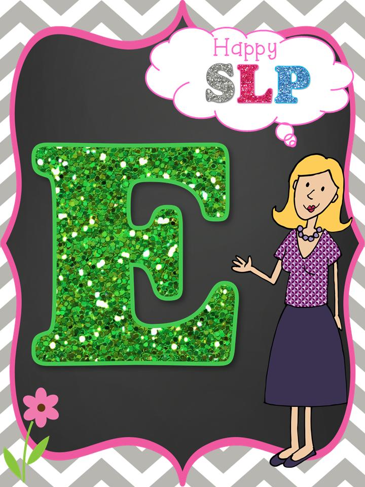 Consonantly Speaking Blog Hop Letter E