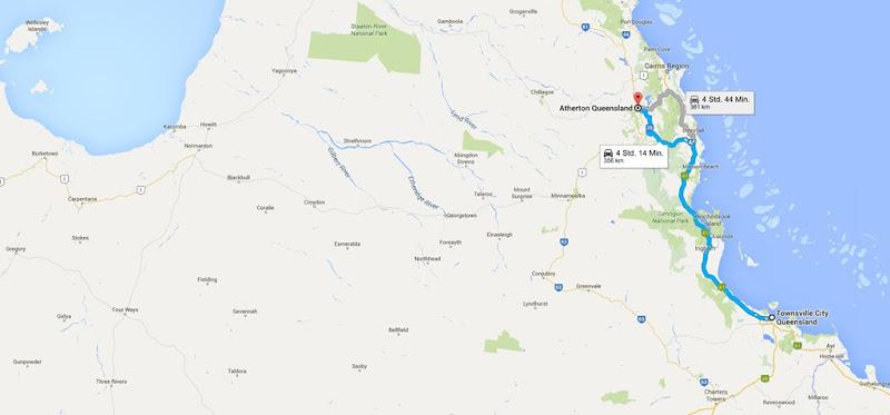 z38 von Townsville nach Atherton