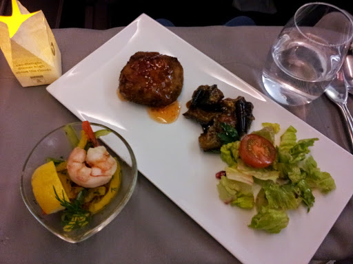 Appetizers. From What's It Really Like to Fly Turkish Airlines Business Class?