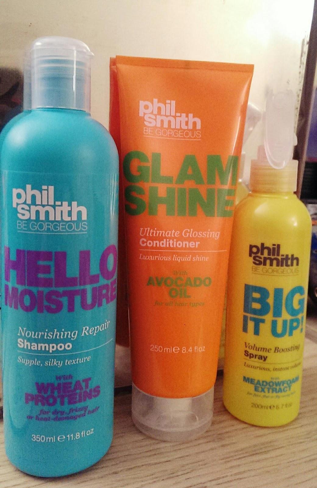 lebellelavie - Testing out the Phil Smith Hair Range