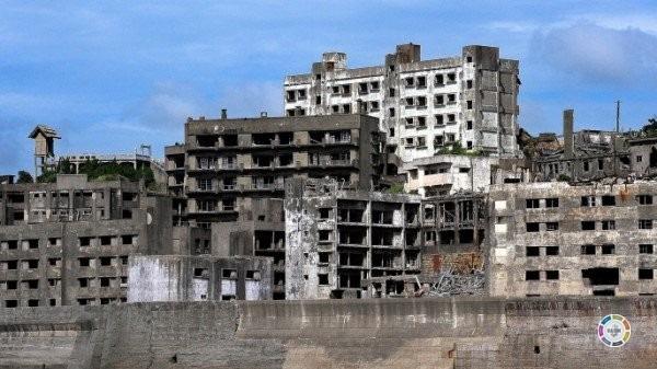 cidades fantasmas mais surpreendentes do mundo - Ilha hashima Japão