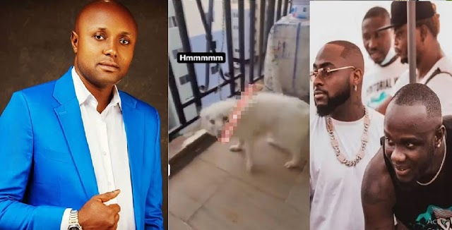Davido's Logistics Manager, Isreal DMW, Cries Out After Obama DMW's Dog Chewed His Ancient Towel [VIDEO]