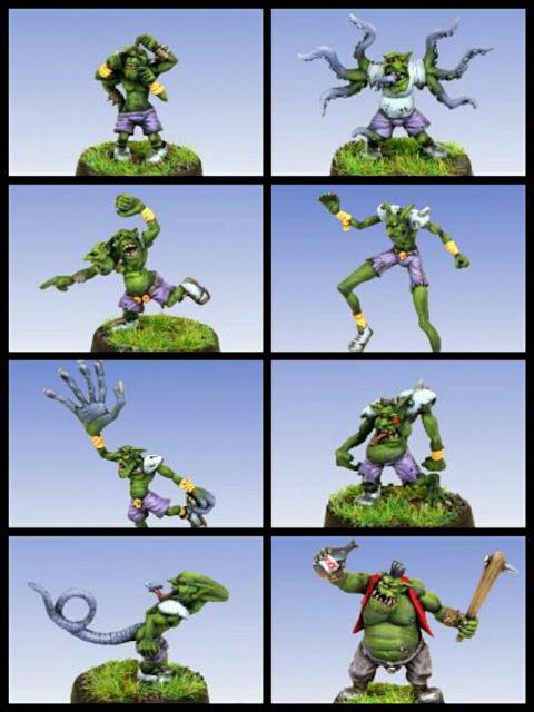 Goblins Inframundo Blood Bowl Neomix