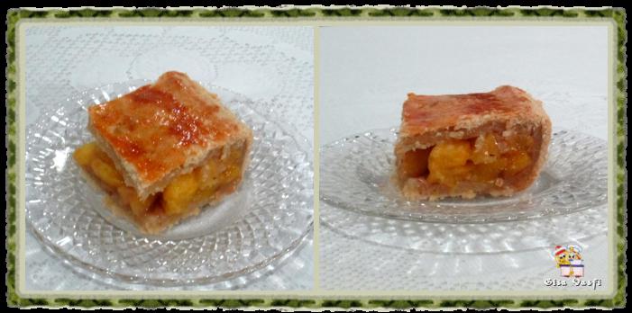Torta de pêssegos do seriado 2