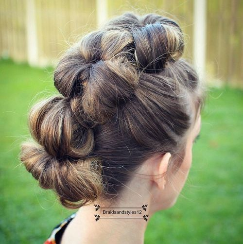 The Trendy Bun Hairstyles For Casual And Formal In Current Year 2017 6