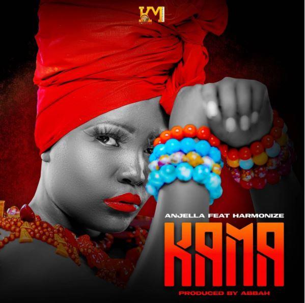 AUDIO: Anjella Ft. Harmonize - Kama | Mp3 Download