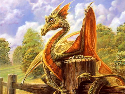 Dragon In The Village, Dragons