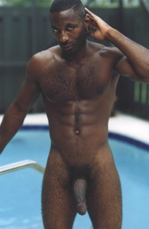 Hairy chested black men