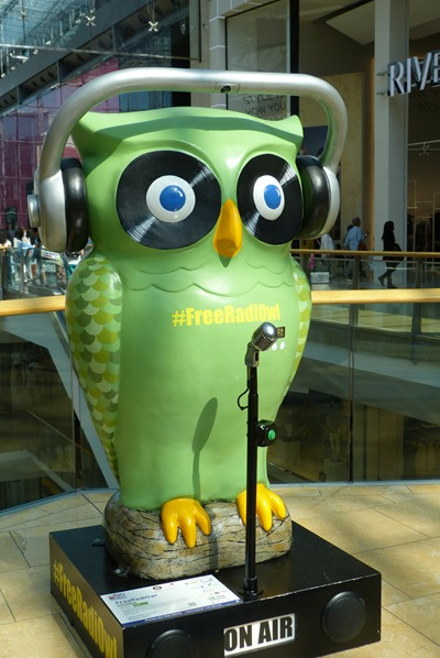 FreeAudiOwl in Bullring