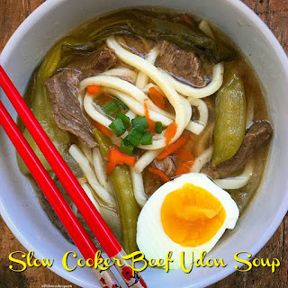 Slow Cooker Beef Udon Soup.