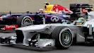 Lewis Hamilton passes Mark Webber