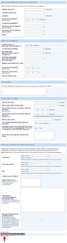 Abrir mi cuenta en Registro de Viajeros - 651