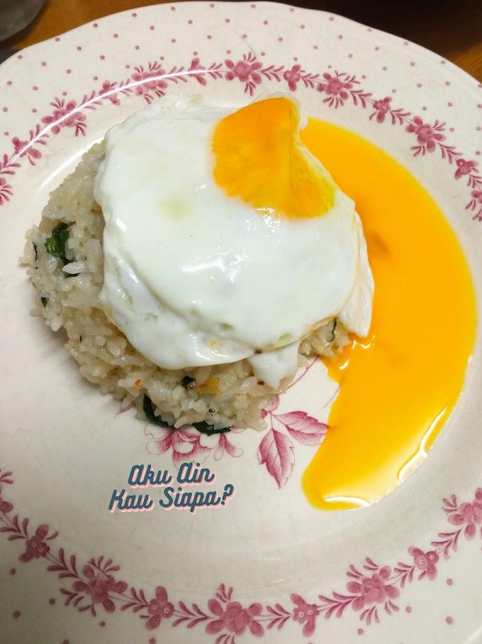 Nasi Goreng Telur Mata Accident !