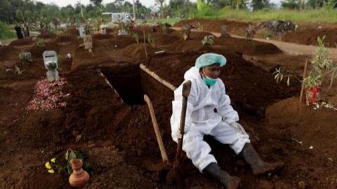 Korban Jiwa Covid-19 di Indonesia Telah Lampaui Negara Eropa
