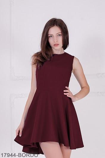 bc5ca7053e5 Женское платье Kendis (17944-BORDO) - VK-Podium