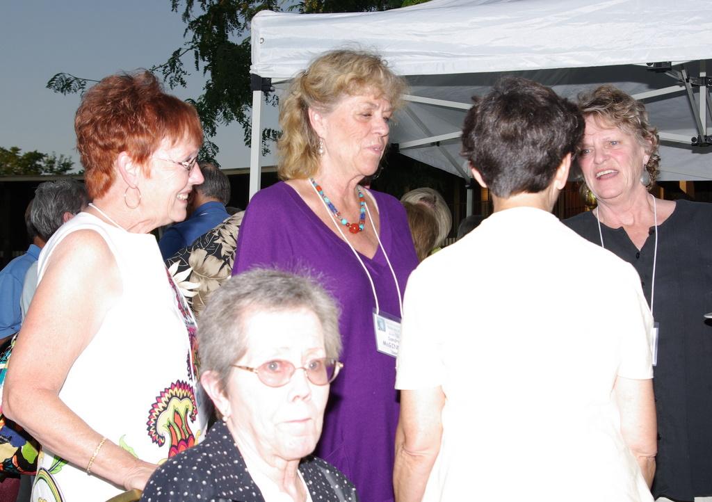 Pam  Swain, Sandra McGinnis, George (Sister of Sandra))
