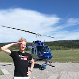 get to the chopper in Calgary, Alberta, Canada