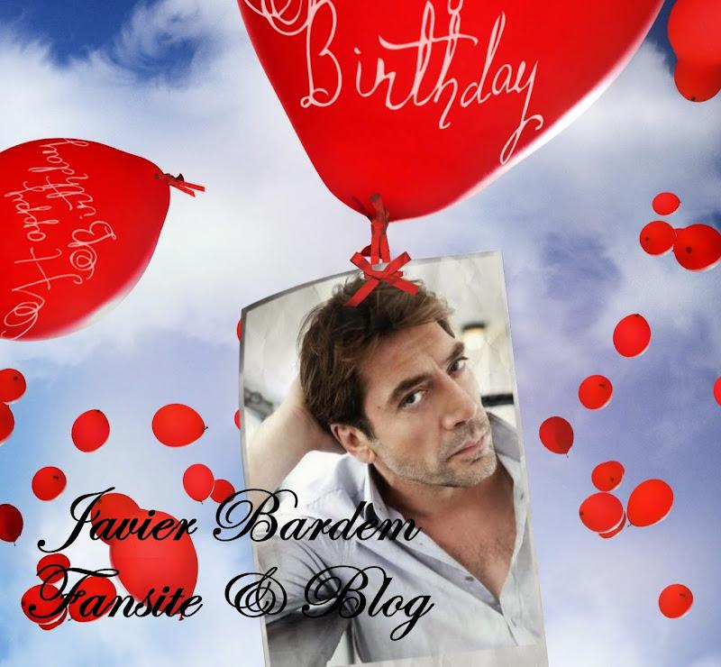Happy Birthday!!! Javier Bardem/ ¡Feliz cumpleaños JavierBardem!