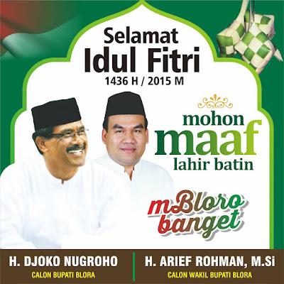 H. Djoko Nugroho - H. Arief Rohman, M.Si
