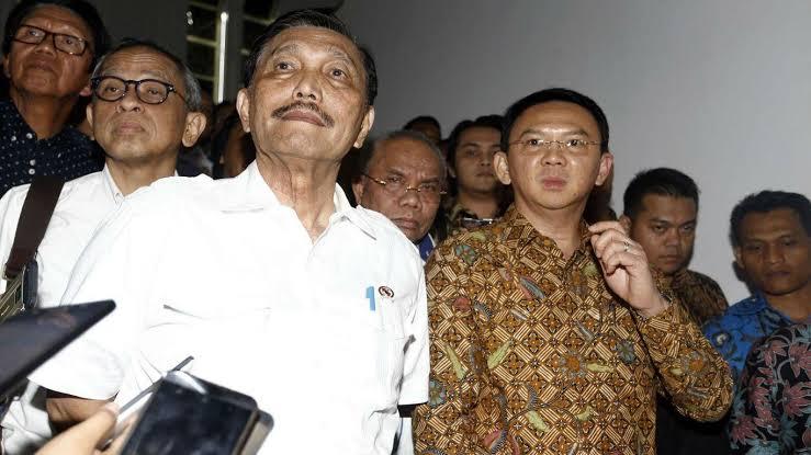 Luhut Disebut Siapkan Grand Skenario Ahok Menjadi Presiden Indonesia