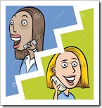 phone-call-split-screen-stock-illustration-image-41750525-ftNTb8-clipart