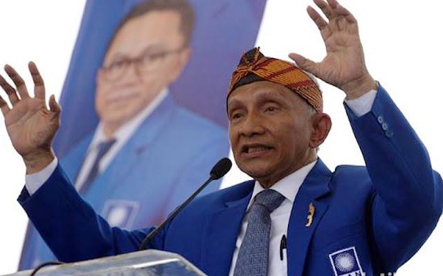 Amien Rais Titip Pesan ke Jokowi: Jangan Wariskan Masalah