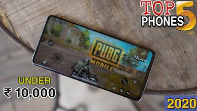 TOP 5 Best Gaming Smartphones Under ₹ 10,000 _ 4GB RAM _ 64GB ROM _ FHD Display _ 5000 mAh Battery