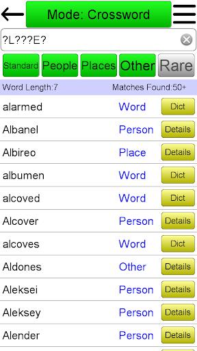 Crossword Solver screenshots 1